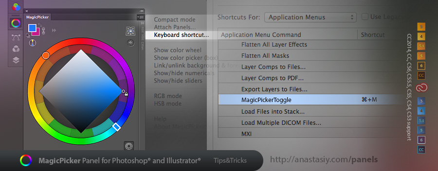 MagicPicker 3.1+ - assign keyboard shortcut