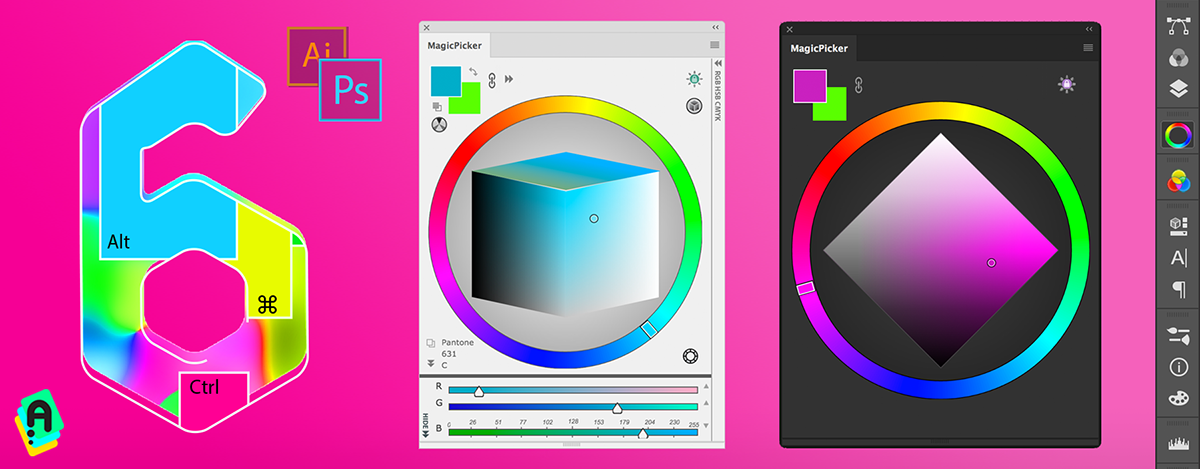 MagicPicker 6.0: LTD Cube Color Space, Keyboard Shortcuts, moew