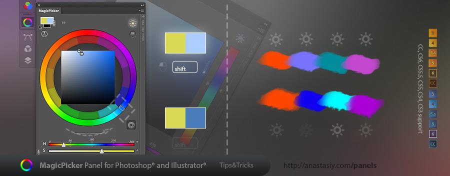 MagicPicker - shift for Tone Lock