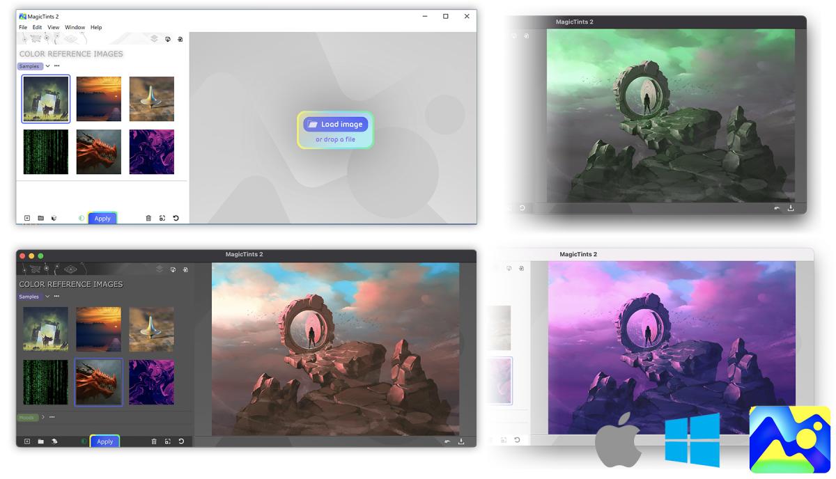 Standalone Color Matching/Correction super-desktop app from Anastasiy