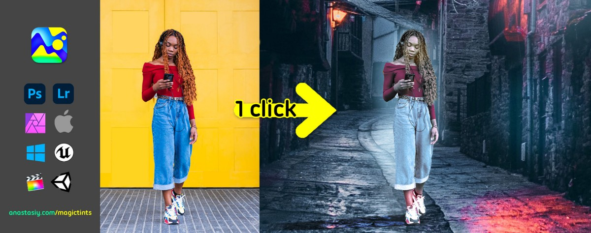 Tip#104: Match elements from different photos 🍭 in one click